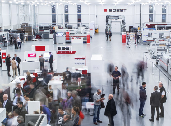 Bobst – Promising solutions for printing and converting at Competence 18