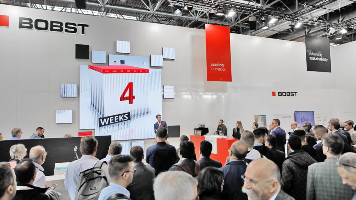 Bobst Group reflects on 2019 and reveals its focus for the year ahead with drupa 2020 in mind