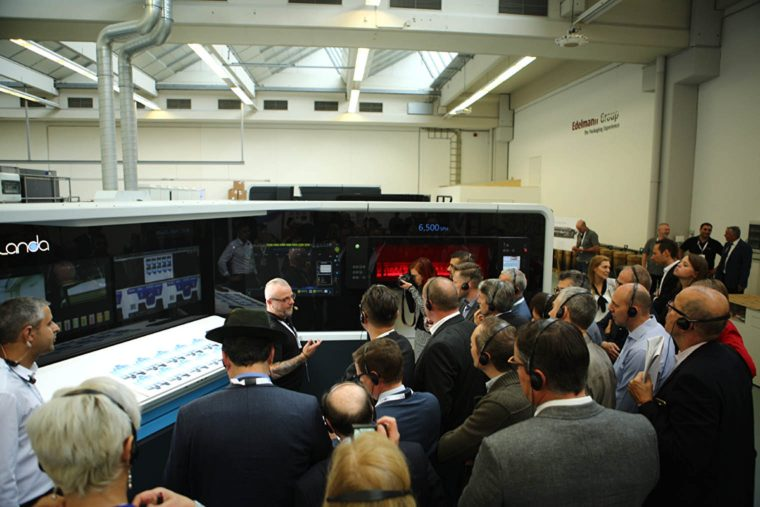 Edelmann And Landa Host Open House To Outline Improved Printing Efficiencies