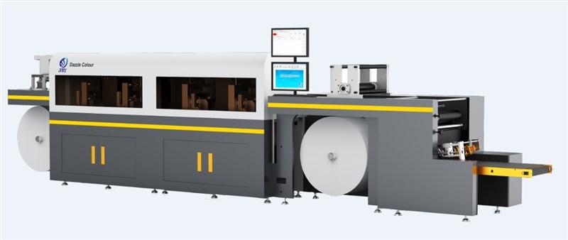 JRY DazZle Colour系列彩色数码印刷机